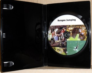 DVD inside the case